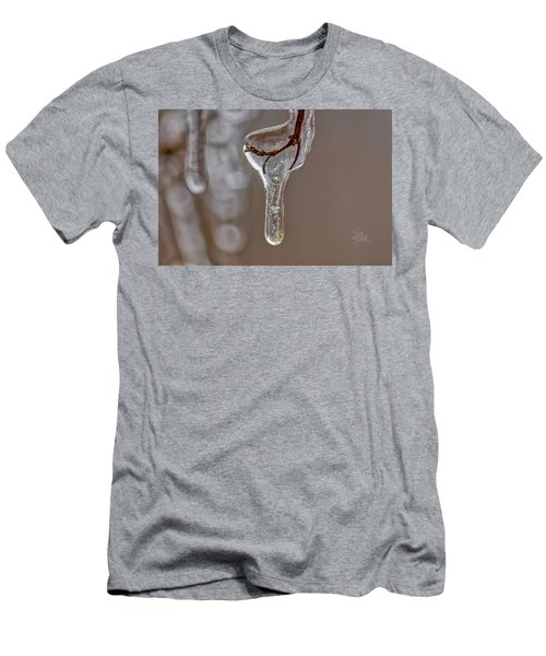 Men's T-Shirt (Athletic Fit) featuring the photograph Frozen-in-time by Meta Gatschenberger