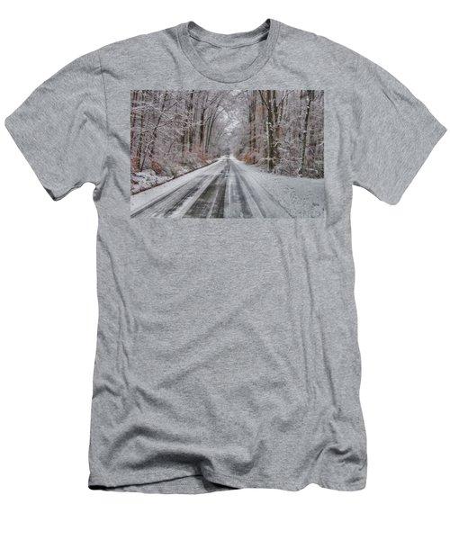 Frozen Road Men's T-Shirt (Athletic Fit)