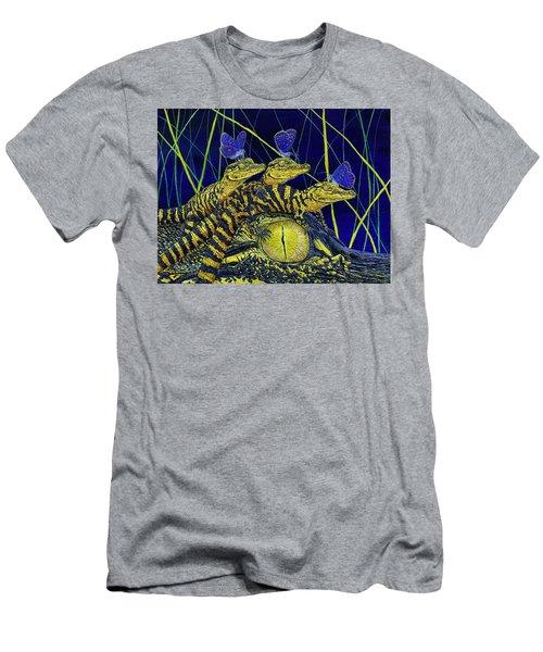 Gator Nursery  Men's T-Shirt (Athletic Fit)