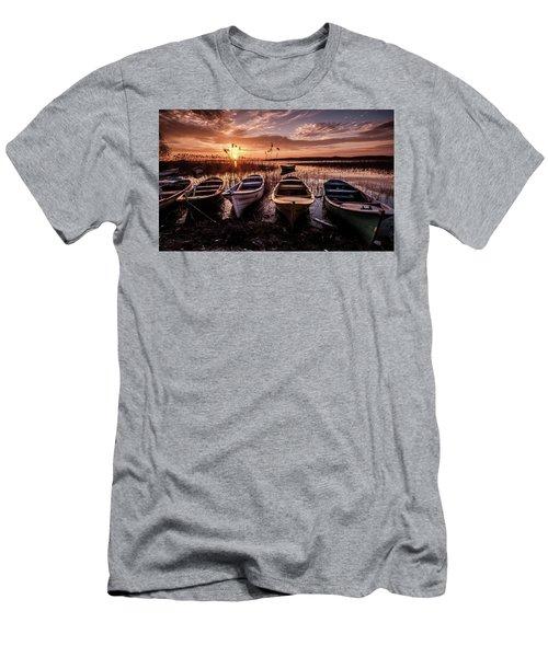 Get In Line Men's T-Shirt (Athletic Fit)