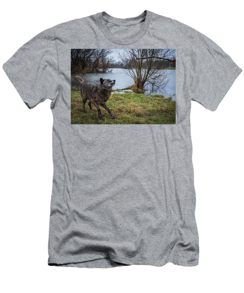 Get The Stick Men's T-Shirt (Athletic Fit)