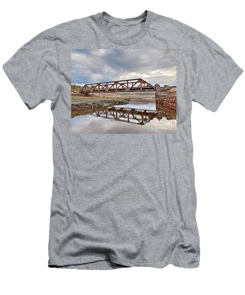 Ghost Bridge - Colebrook Reservoir Men's T-Shirt (Athletic Fit)