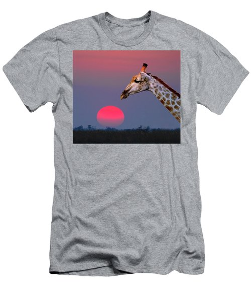 Giraffe Composite Men's T-Shirt (Athletic Fit)
