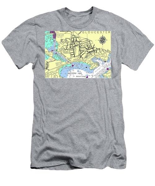 Gloucester, Ma Men's T-Shirt (Athletic Fit)