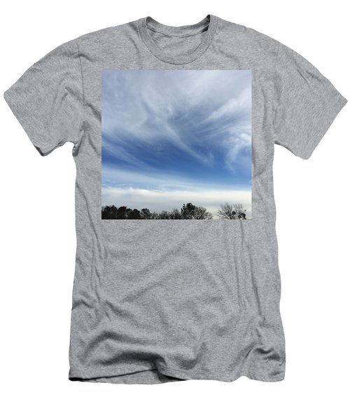 God Is Everywhere Men's T-Shirt (Athletic Fit)