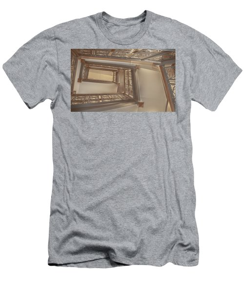 Going Up...evens Hall Carleton College Men's T-Shirt (Athletic Fit)