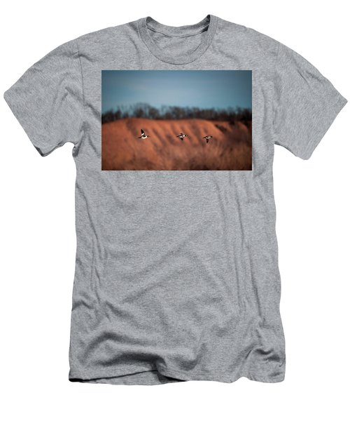 Men's T-Shirt (Athletic Fit) featuring the photograph Golden Eye by Jeff Phillippi