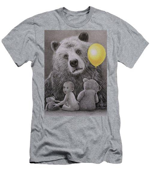 Goldilocks And The Three Bears Men's T-Shirt (Athletic Fit)