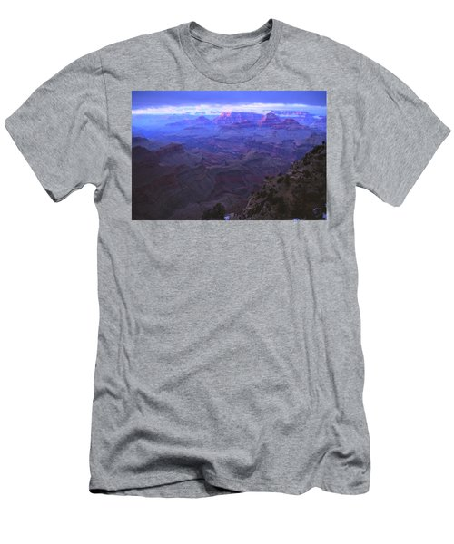 Grand Canyon Twilight Men's T-Shirt (Athletic Fit)