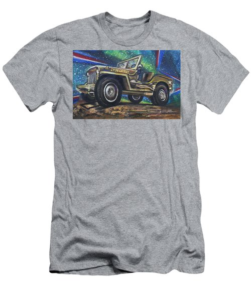 Grandpa Willie's Willys Jeep Men's T-Shirt (Athletic Fit)