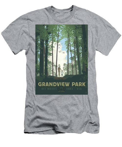 Grandview Park Men's T-Shirt (Athletic Fit)
