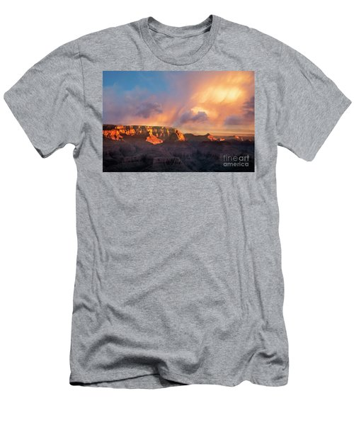 Men's T-Shirt (Athletic Fit) featuring the photograph Grandview Point 1 by Scott Kemper