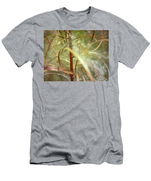 Men's T-Shirt (Athletic Fit) featuring the photograph Green Abstract Series No.11 by Juan Contreras