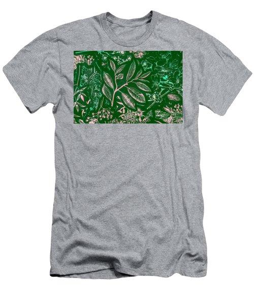 Green Composition Men's T-Shirt (Athletic Fit)