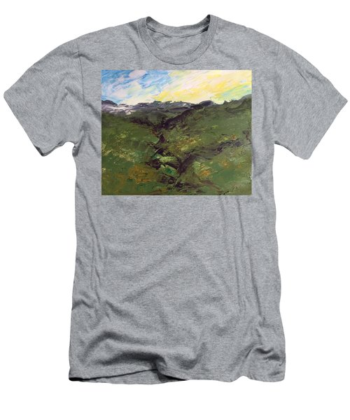 Green Hills Men's T-Shirt (Athletic Fit)