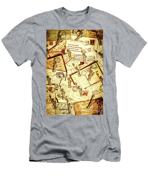 Hallmarks Of Travelling Old Men's T-Shirt (Athletic Fit)