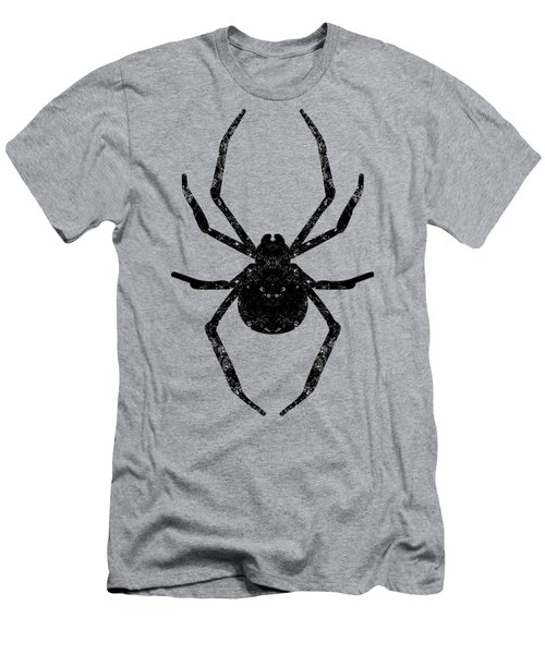 Men's T-Shirt (Athletic Fit) featuring the mixed media Halloween Spider Dream by Rachel Hannah