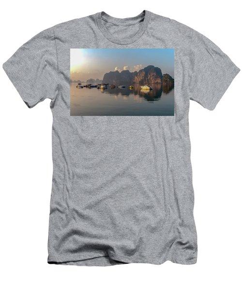 Ha Long Bay Men's T-Shirt (Athletic Fit)