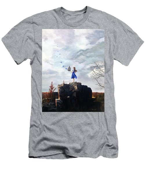 Happiness Released Men's T-Shirt (Athletic Fit)