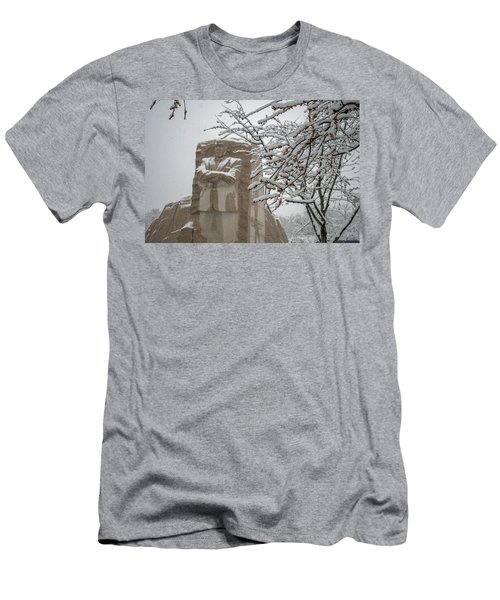 Happy Holidays At The King Memorial Men's T-Shirt (Athletic Fit)