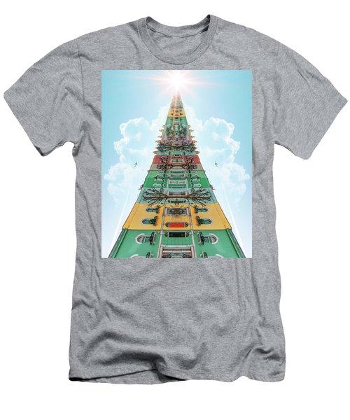 Happy House Dreams Men's T-Shirt (Athletic Fit)