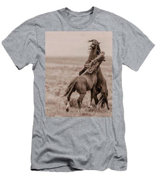 He Means It Men's T-Shirt (Athletic Fit)