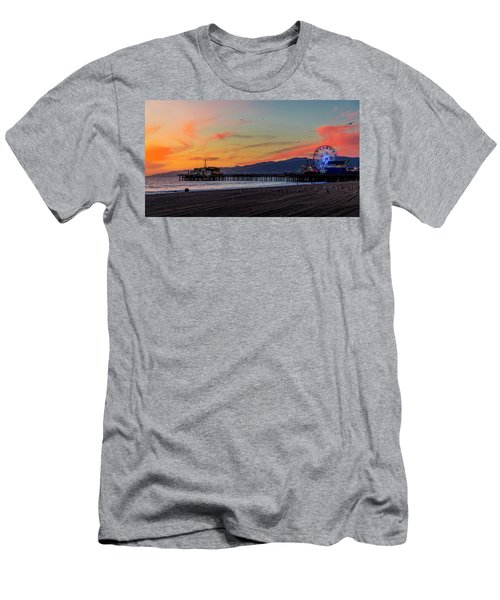 Heading Home At Dusk Men's T-Shirt (Athletic Fit)
