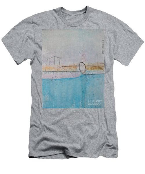 Men's T-Shirt (Athletic Fit) featuring the painting Heart Of The Home by Kim Nelson
