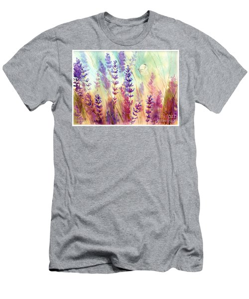 Heathers In Haze Men's T-Shirt (Athletic Fit)