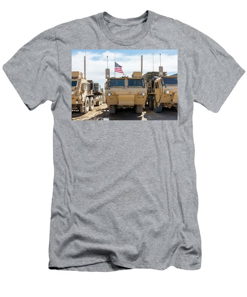 Men's T-Shirt (Athletic Fit) featuring the photograph Heavy Patriotism by SR Green