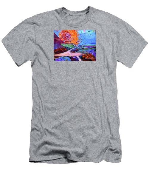 Her Extravagant Melt Men's T-Shirt (Athletic Fit)