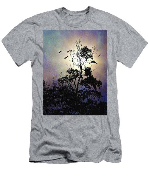 Herons At Dusk Men's T-Shirt (Athletic Fit)