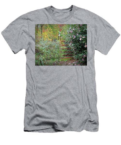 Hidden Gate Men's T-Shirt (Athletic Fit)