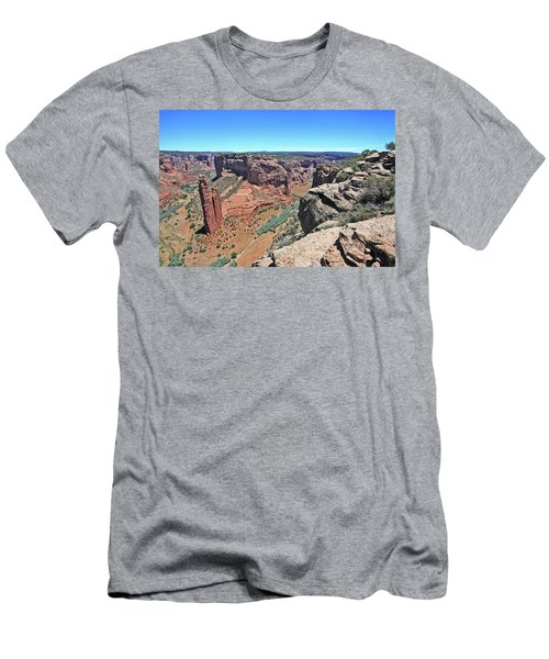 High Noon At Spider Rock Men's T-Shirt (Athletic Fit)