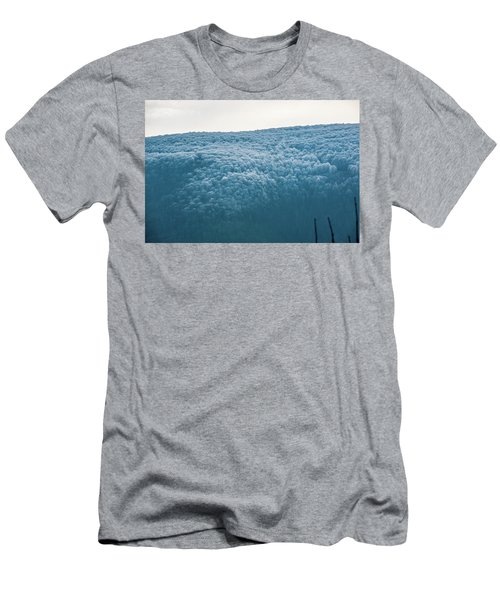 Hoarfrost Blue Mountain Men's T-Shirt (Athletic Fit)