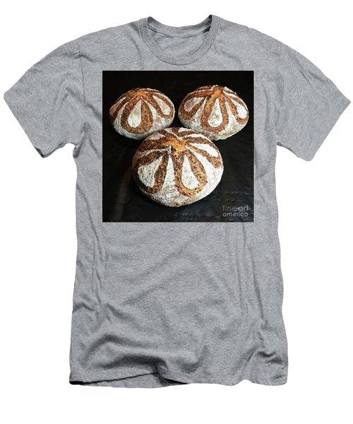 Honey Flax Sourdough Trio Men's T-Shirt (Athletic Fit)