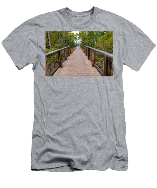 Hunter's Point At Copper Harbor Men's T-Shirt (Athletic Fit)