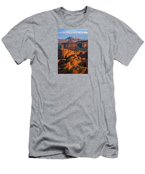 Hunts Mesa Sunrise Men's T-Shirt (Athletic Fit)