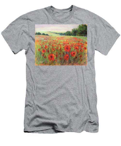 I Dream Of Poppies Men's T-Shirt (Athletic Fit)
