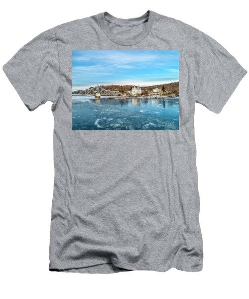 Ice Blue   Men's T-Shirt (Athletic Fit)