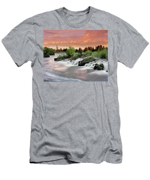 Idaho Falls Men's T-Shirt (Athletic Fit)