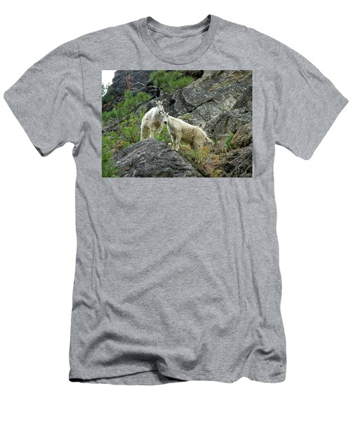 Idaho Mountain Goats Men's T-Shirt (Athletic Fit)