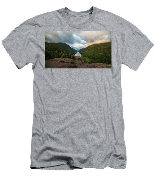 Indian Head Sunrise Men's T-Shirt (Athletic Fit)