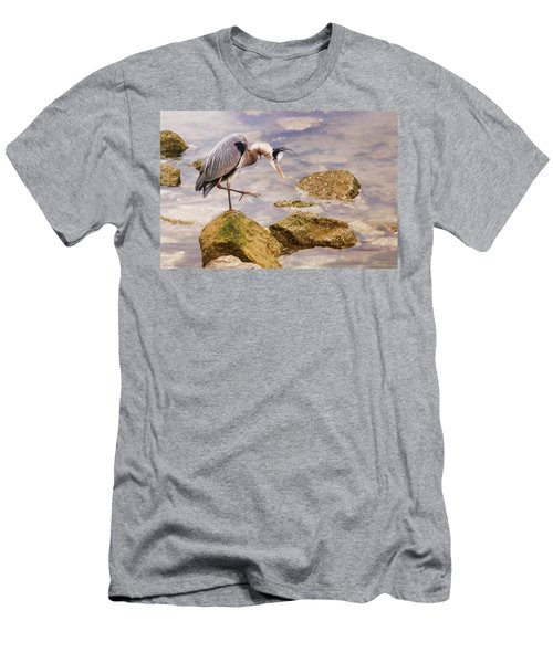 One Step At A Time Men's T-Shirt (Athletic Fit)