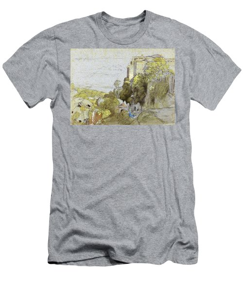 Italian Hill Town - Digital Remastered Edition Men's T-Shirt (Athletic Fit)