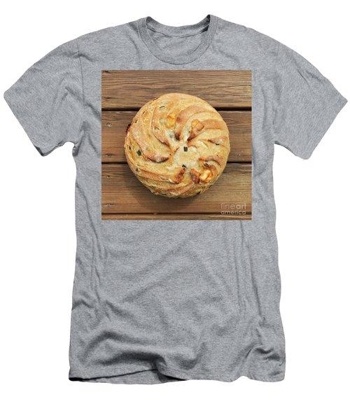 Jalapeno Cheddar Sourdough Men's T-Shirt (Athletic Fit)