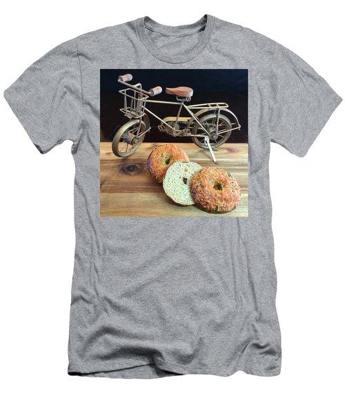 Jalapeno Cheddar Sourdough Bagels Men's T-Shirt (Athletic Fit)