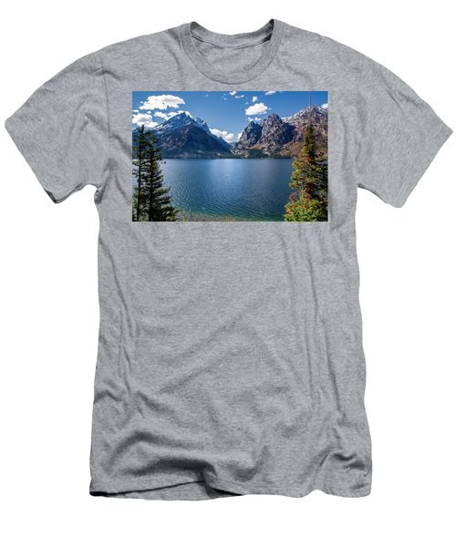 Men's T-Shirt (Athletic Fit) featuring the photograph Jenny Lake by Scott Read