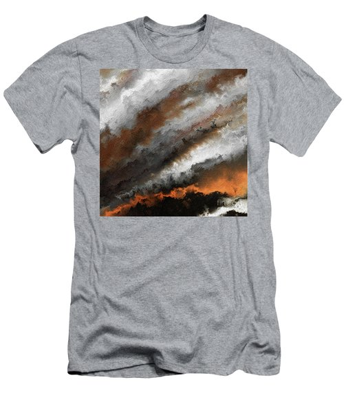 Jeremiah 20 9 Fire In My Heart Men's T-Shirt (Athletic Fit)