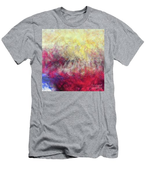 Men's T-Shirt (Athletic Fit) featuring the painting Jesus Christ, Rose Of Sharon. Song Of Solomon 2 1 by Mark Lawrence